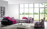 Новые современные дома ткань комбинации диван в гостиной (HC1029A)