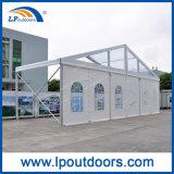 300 lugares no exterior do teto transparente de luxo Casamento Igreja Retângulo tenda para o evento
