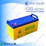 Bateria profunda do ciclo do gel da capacidade total de Whc 12V para o sistema de energia Home