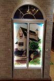 防音PVC/UPVCのアーチの開き窓のWindows (BHP-CWA17)