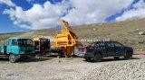 Pompe montée par camion diesel et électrique mobile de mélangeur concret à vendre