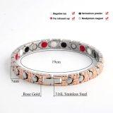 Germanium van het Element van het roestvrij staal nam het Bio Gouden Armband voor Vrouwen toe