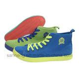 Chaussures de mode avec semelle en caoutchouc coloré (SNC-230008)