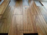 Hoja de hoja grande Natural Prefinished Pisos de madera de acacia