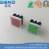 Interruptor del tacto de la luz verde para el sistema audio