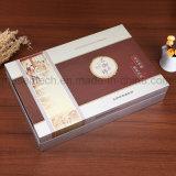 L'impression CMJN Silver Stamping cosmétique boîtes d'emballage en carton de papier