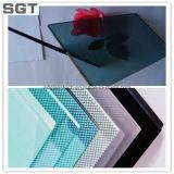 4 mm-16 mm, CE y Certificado ISO vidrio laminado para construcción