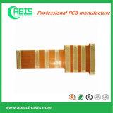 Flex-gedruckte Schaltkarte mit Enig-Oberflächenbehandlung