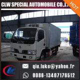 1-5 carro de la cerveza del carro 4X2 de la refrigeración de Fruit Small Van Truck 2ton de la tonelada para la venta