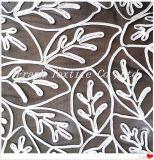 Band-Stickerei der Blätter Designs-Flk5006