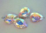 Steen van het Kristal van het Punt van de Kleur van ab de Achter voor de Toebehoren van Juwelen (3003)