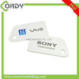 Piccola RFID scheda a forma di tagliata del PVC di formato non standard