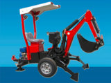 Backhoe rebocador do trator com motor de gasolina (séries BH-002)