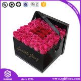 Коробка подарка Squre Rectancle бумажного круга цветка упаковывая