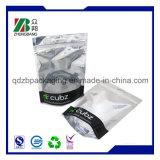 Sac de empaquetage stratifié mat de papier d'aluminium d'impression de barrière faite sur commande d'humidité