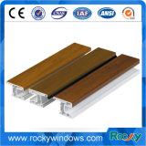 Profils UPVC Porte et fenêtre en plastique pour extrusion blanche