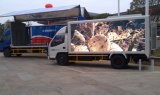 Double Side P8 SMD3535 Outdoor Full Color Mobile LED Advertising Truck