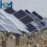 100W a 300W Double-Arc Panel solar de cristal con certificado ISO