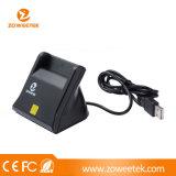 Zw-12026-3 Lezer van de Kaart van het Contact van identiteitskaart ATM SIM de Slimme