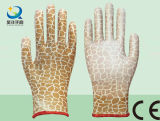Перчатки сада, нитрил раковины полиэфира или PU покрыли, перчатки работы безопасности с Ce, En388 (N6051)