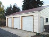 Einfache Installations-Stahlkonstruktion-Auto-Garage (KXD-SSW143)