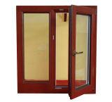 La série 70 de fenêtre en bois à revêtement aluminium avec le Roto matériel