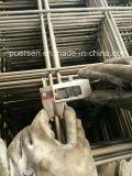 el panel de acoplamiento soldado galvanizado 4m m de alambre (fabricación)