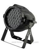 36X3w RGBW LED PAR 64/LED PAR 64 Этап лампа
