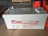 batteria al piombo del AGM 12V200ah per energia solare Syeterm con il rendimento elevato