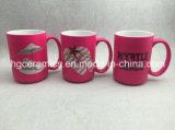 Caneca cor-de-rosa, caneca relativa à promoção. caneca 15oz cor-de-rosa