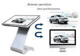 LCD 디스플레이 지면 서 있는 42 인치 접촉 스크린 간이 건축물 광고