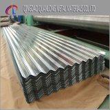 Tôle d'acier ondulée galvanisée de toiture pour l'usage de construction