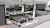 300A semiautomática corrugado de superficie plana caja de cartón que hace la máquina