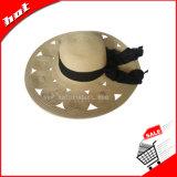 Sombrero de la mujer, sombrero flojo, sombrero de paja, sombrero de papel