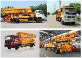 Pompa per calcestruzzo montata camion di alta qualità, calcestruzzo della pompa idraulica, concreto