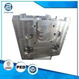 Parte feita à máquina CNC personalizada com o revestimento do cromo ou niquelar