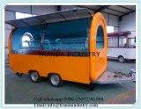 세륨으로 승인된 Vending 자전거 대중음식점 차량
