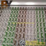 Schermo Chain di alluminio dei ciechi dell'insetto della mosca del portello della finestra del divisore decorativo