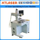 A máquina da marcação do laser da fibra com o giratório para o pé do pássaro do pombo soa a marcação do laser da fibra