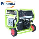 L'équipement d'alimentation 3500 watts prêt RV de carburant double générateur portatif avec démarrage électrique