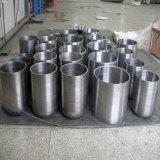 China Fabricación 99,95% Molibdeno Crisol para horno de crecimiento de zafiro