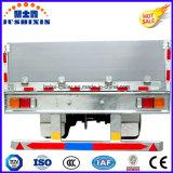 3 de Semi Aanhangwagens van de as met Omheining voor Vervoer