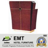 Salle de réception luxueuse de l'hôtel Table d'accueil des meubles de l'hôtel (EMT-RD02)