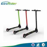 2017熱い2小さい車輪350WカーボンファイバーのFoldable電気スクーターの電気自転車Ebike