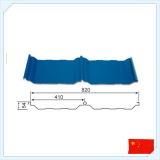 Hoja acanalada de acero del material para techos del metal de Clour