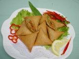 Chinese Dim Sum 100% feito à mão 12,5g / Piece vegetais Samosas congelados