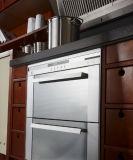 2017の純木の家具のホーム食器棚の収納キャビネット(Zq-011)