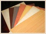 1220*2440 (4*8) madera contrachapada de la suposición de la teca de 6/9/12/15/18m m/del roble rojo/de la nuez negra/de la chapa de la haya para los muebles