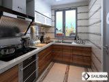 Уф Vaneer Modern Home Отель мебель из дерева острова кухня кабинет
