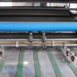 Msfm-1050 수동 물 찬 접착제 필름 및 열 필름 박판으로 만드는 기계장치
